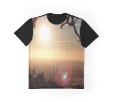Sunrise Over the Hill Graphic T-Shirt