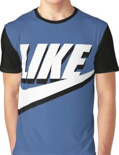 Like sport social media Graphic T-Shirt
