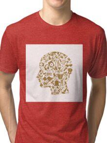 Musical head4 Tri-blend T-Shirt