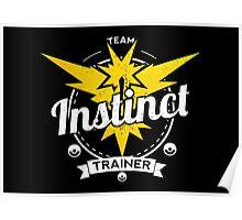 Team Instinct - Pokemon Go Poster