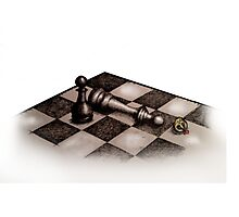 Bested (Chess) Photographic Print