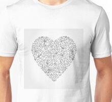 Musical heart4 Unisex T-Shirt