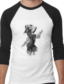 """Dancer"" Men's Baseball ¾ T-Shirt"
