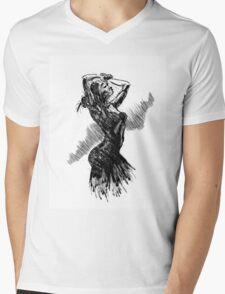 """""""Dancer"""" Mens V-Neck T-Shirt"""