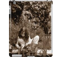 In an English Country Garden iPad Case/Skin
