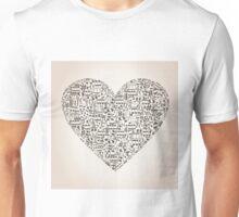 Musical heart6 Unisex T-Shirt