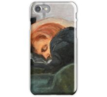 Dana Scully missing Fox Mulder iPhone Case/Skin