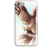 Bird flying free - CatyGames iPhone Case/Skin