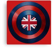 CAPTAIN BRITAIN - Captain America inspired British shield Canvas Print