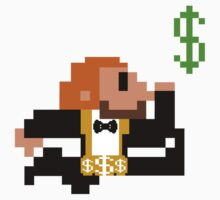 8-Bit Dollar Man by DarkMatchDuds