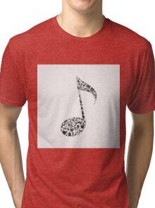 Musical note Tri-blend T-Shirt