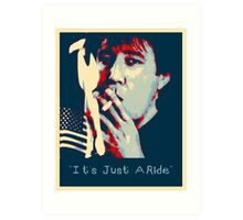 Bill Hicks - It's Just A Ride Art Print