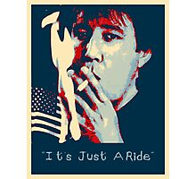 Bill Hicks - It's Just A Ride Photographic Print