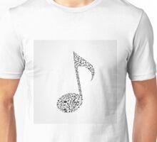 Musical note6 Unisex T-Shirt