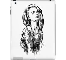 Brush Pose iPad Case/Skin