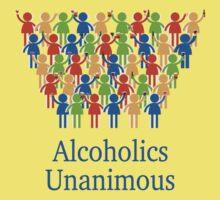 Acloholics unanimous Kids Tee