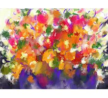 Flower Froth Photographic Print