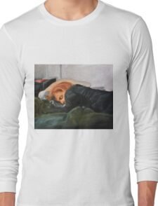 Dana Scully missing Fox Mulder Long Sleeve T-Shirt