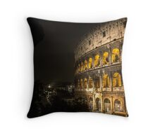 Colosseum // Rome Throw Pillow