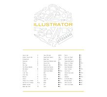 Keyboard Shortcuts for Adobe Illustrator Photographic Print