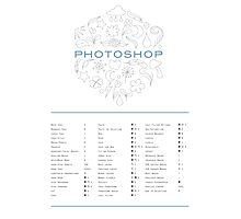 Keyboard Shortcuts for Adobe Photoshop Photographic Print