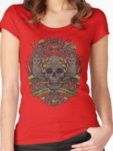 ARS LONGA, VITA BREVIS Women's Fitted Scoop T-Shirt