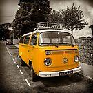 Vdub in Orange  by Rob Hawkins