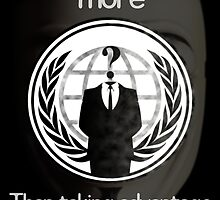 Anonymous (Sucess) Poster by Royal Voyage