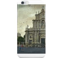 Duomo di Catania iPhone Case/Skin