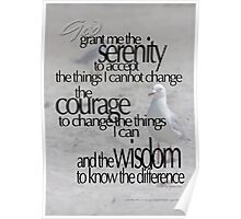 Serenity Prayer 07 © Vicki Ferrari Photography Poster