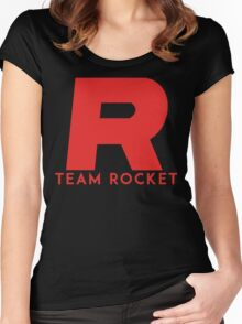 Pokemon Team Rocket Women's Fitted Scoop T-Shirt