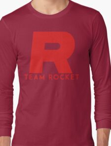 Pokemon Team Rocket Long Sleeve T-Shirt
