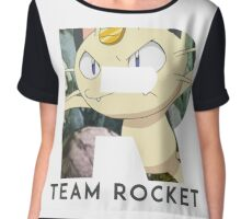 Pokemon Team Rocket Chiffon Top