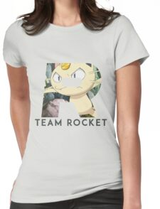 Pokemon Team Rocket Womens Fitted T-Shirt