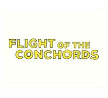 Flight of the Conchords Title Art Print