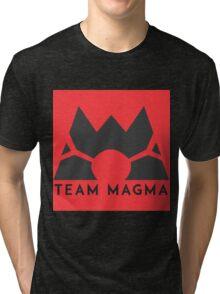 Pokemon Team Magma Tri-blend T-Shirt