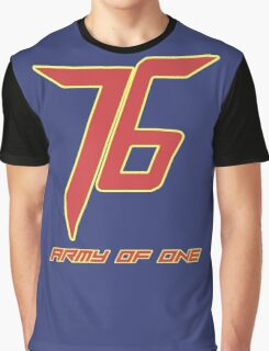 Soldier 76 Army Of One Graphic T-Shirt