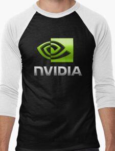 Nvidia Men's Baseball ¾ T-Shirt