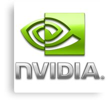 Nvidia Canvas Print
