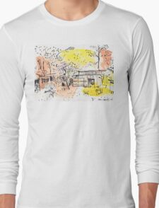 The Old Shed Out the Back Long Sleeve T-Shirt