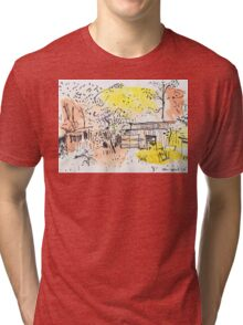 The Old Shed Out the Back Tri-blend T-Shirt