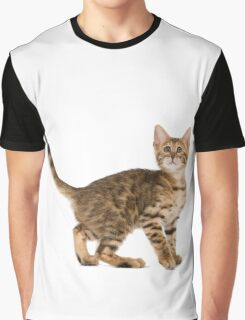 Cute cat nacked  Graphic T-Shirt
