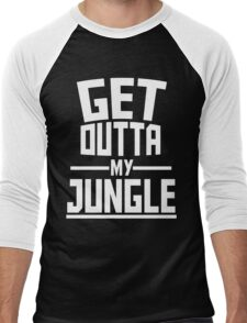 Get Outta My Jungle v2 Men's Baseball ¾ T-Shirt