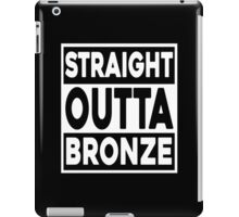 Straight Outta Bronze iPad Case/Skin