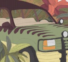 Jurassic Car Sticker