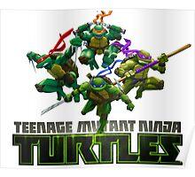 Teenage Mutant Ninja Turtles Cartoon Poster