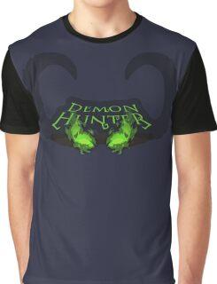 Burning Eyes Demon Hunter Graphic T-Shirt
