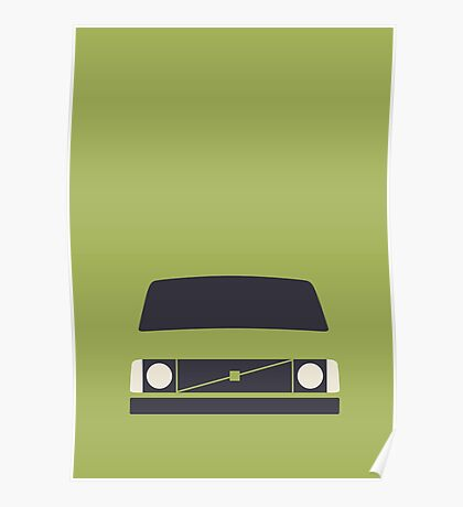 Volvo 240 (Lime) Poster