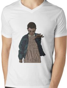 Stranger Things - Eleven Mens V-Neck T-Shirt