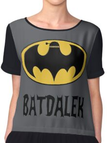 BAT-DALEK Women's Chiffon Top